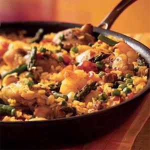 Chicken-and-Shrimp-Paella-Spanish-recipe