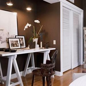 3 id es sympas pour am nager un espace bureau chez soi les conseils. Black Bedroom Furniture Sets. Home Design Ideas