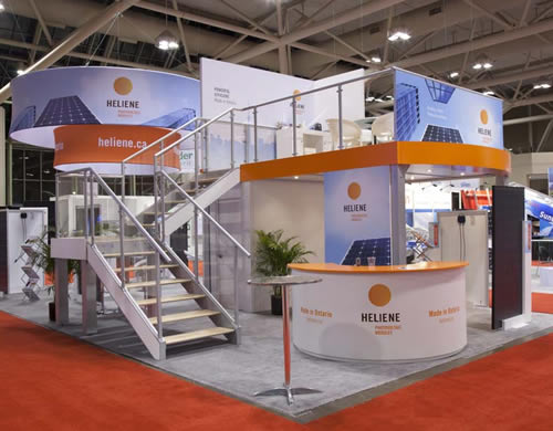 Basic Exhibition Booth : Tips for choosing the best type of trade show booth