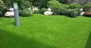 Artificial Grass With A Natural Garden