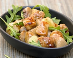 Chicken wok with honey sauce