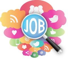 find job social media